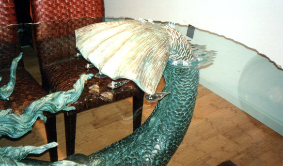 Mermaid Table Detail.